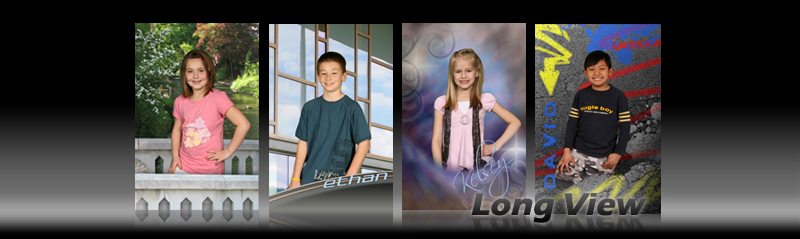Long View Digital Backgrounds for School Photography