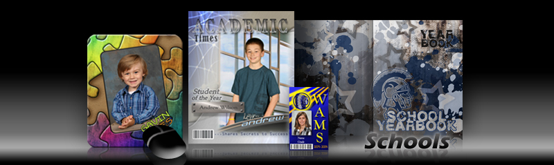 School Photo Templates