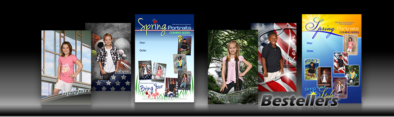 Bestsellers Spring Portrait Program Series