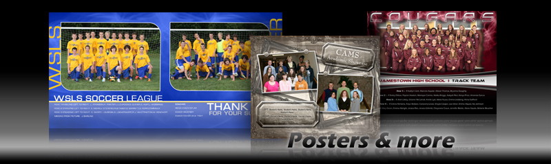 Custom School Poster and Plaque Photo Templates