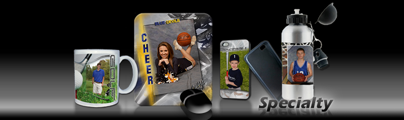 Photo Templates for Specialty Sports Items