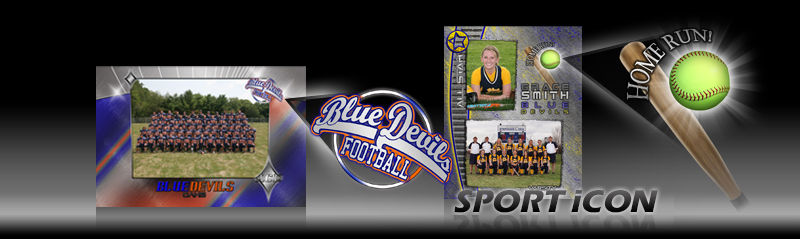 SPORT iCONs, Customize Photo Templates to any Sport or Activity