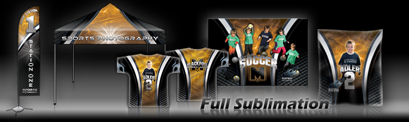 Digital Sports Photo Templates - Sports banner templates