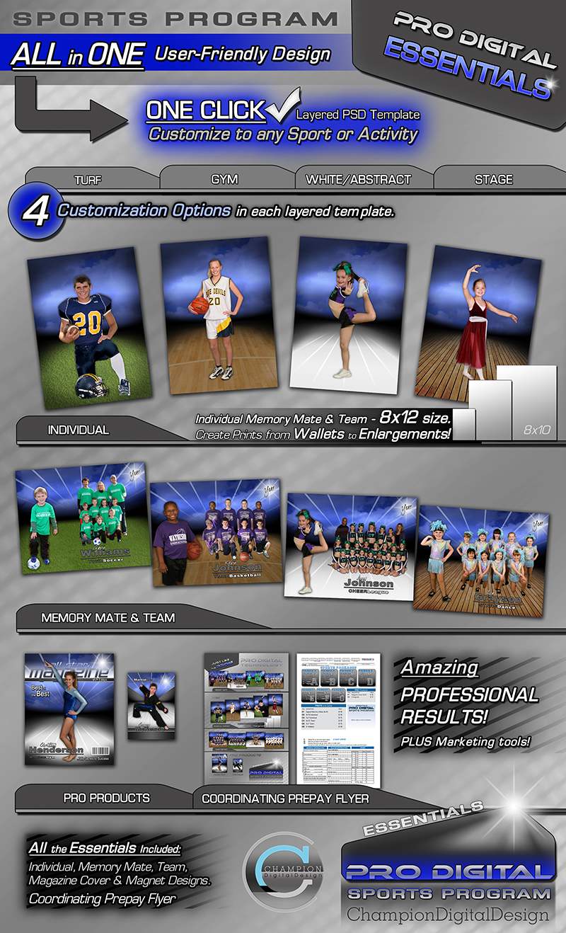 sports programs template