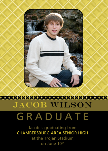 photo graduation announcements