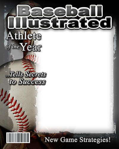 Blank Sports Magazine Cover Templates Images & Pictures - Becuo