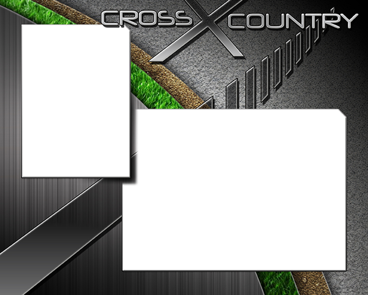 Cross Country Running Photo Templates