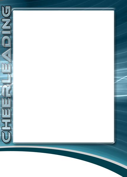 cheerleading photo templates