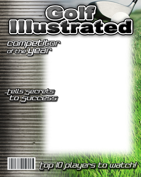 Golf Magazine Cover Template | galleryhip.com - The Hippest Galleries!