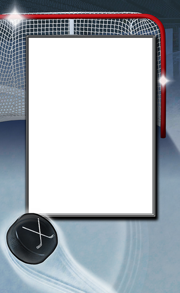 Ice Hockey Photo Templates