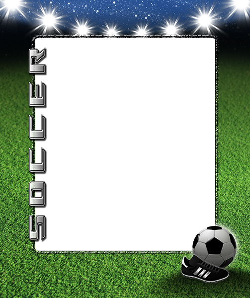 soccer frame templates - Selo.l-ink.co