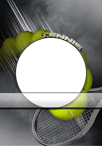 tennis photo templates