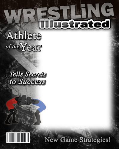 wrestling photo templates