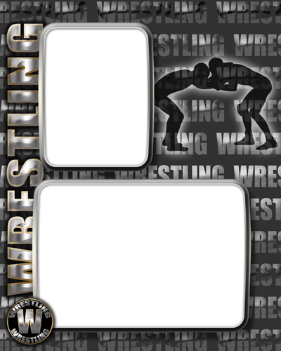 wrestling certificate templates